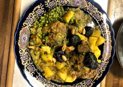 L'étoile d'Agadir. cuisine orientale. marché de la Seiche, Sevrier
